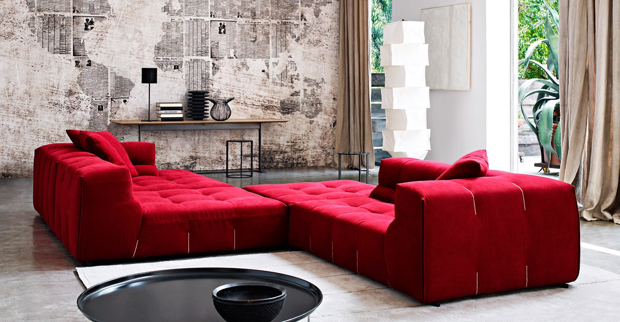 B&B Italia: Tufty Time Sofa