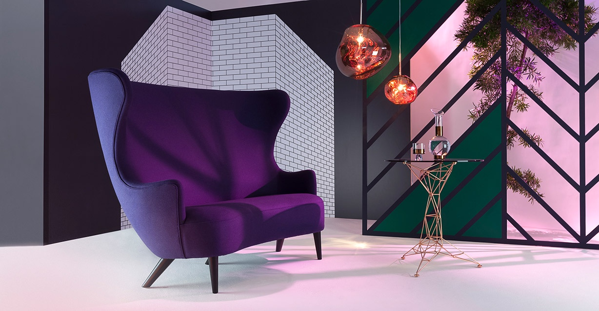 Tom Dixon: Wingback Sofa