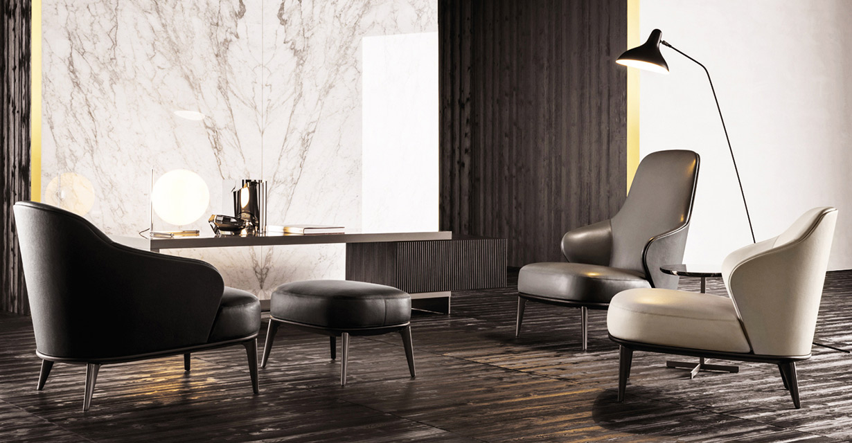 Minotti: Leslie Seating Collection