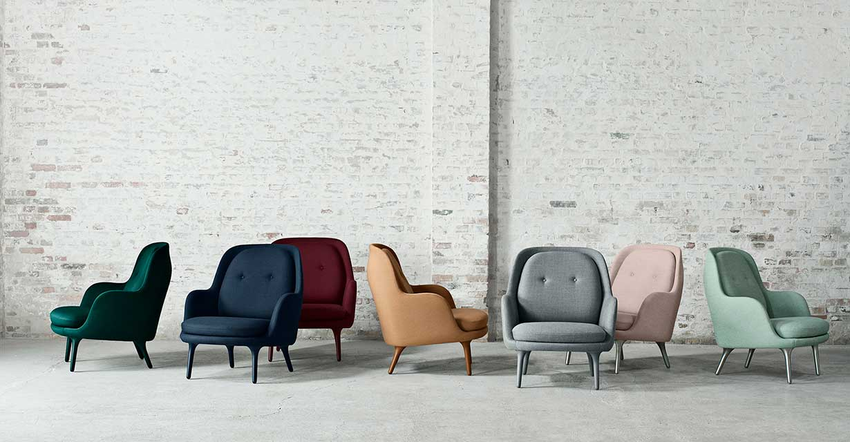 Fritz Hansen Fri & Ro Lounge Chairs