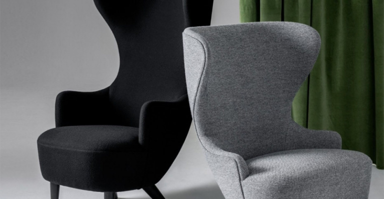 Tom Dixons Micro Wingback Collection Arkitektura Assembly - Tom dixon wingback chair