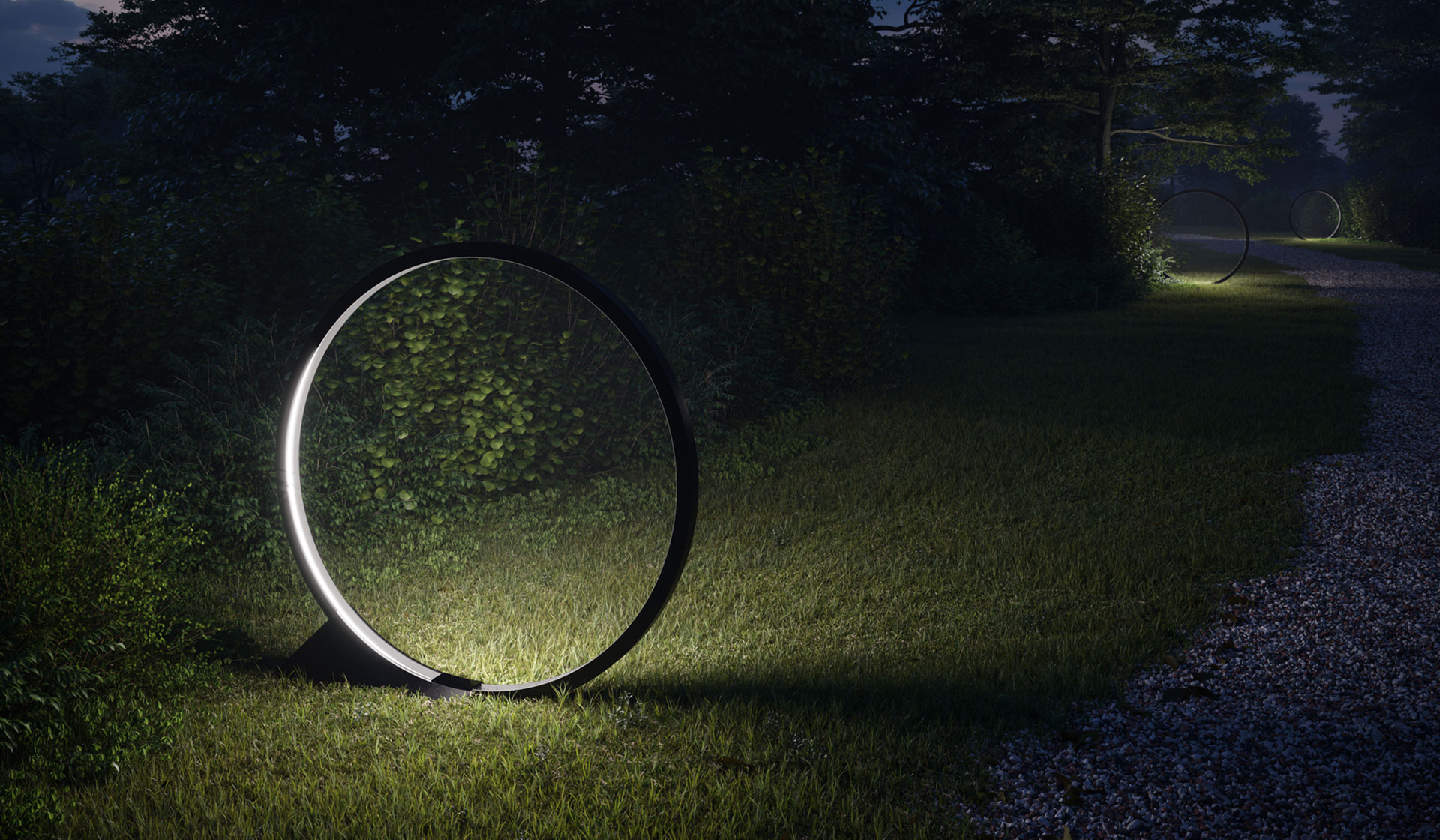 "Artemide: ""O"" Outdoor Light designed by Elemental"