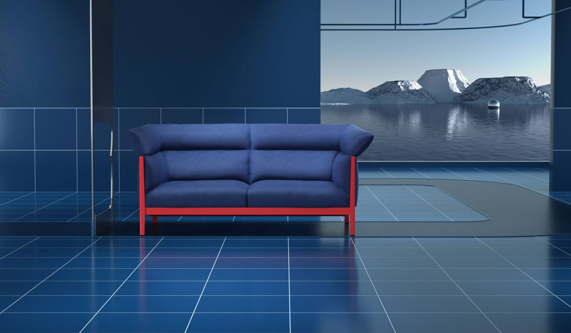 Cassina Cotone Sofa  Designed by Bouroullec Brothers